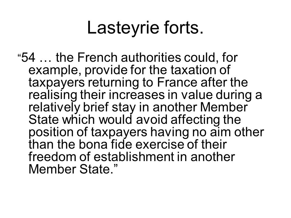 Lasteyrie forts.