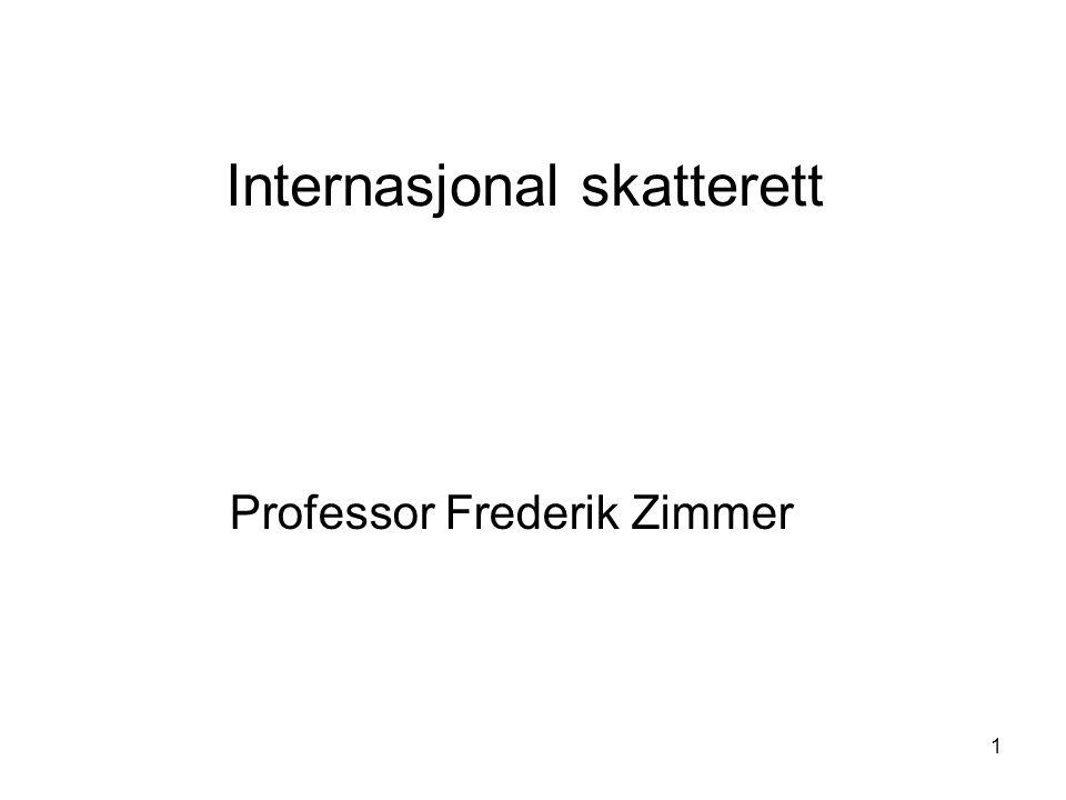 Internasjonal skatterett