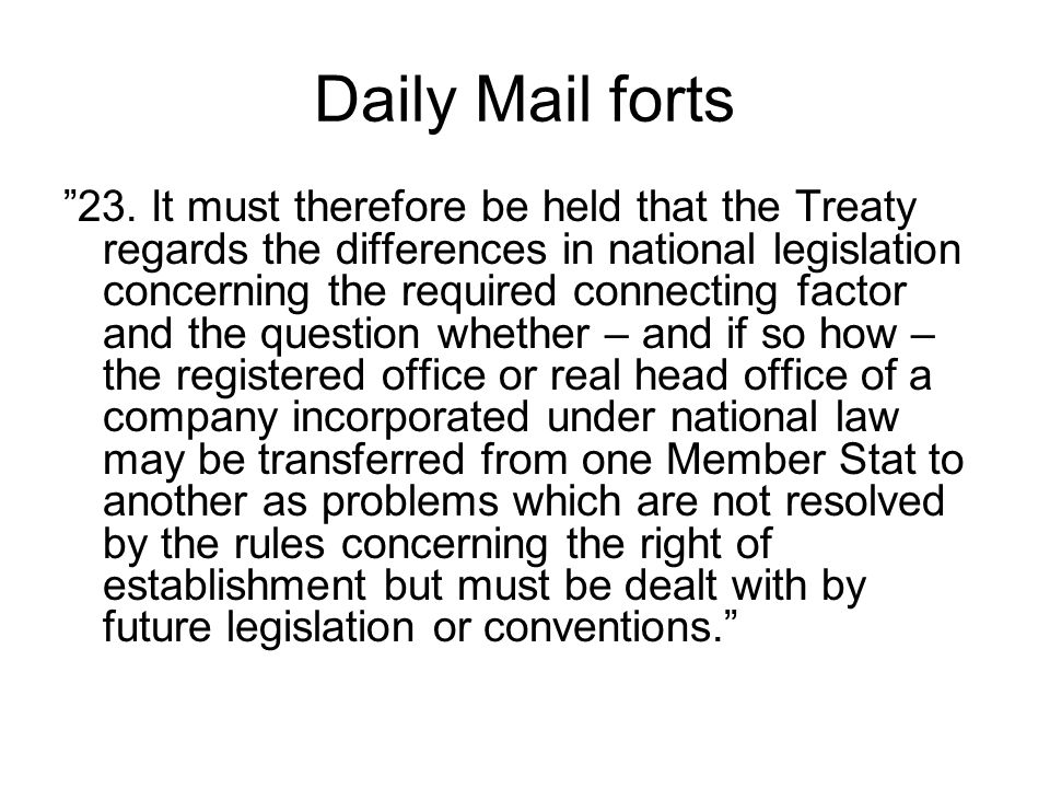Daily Mail forts