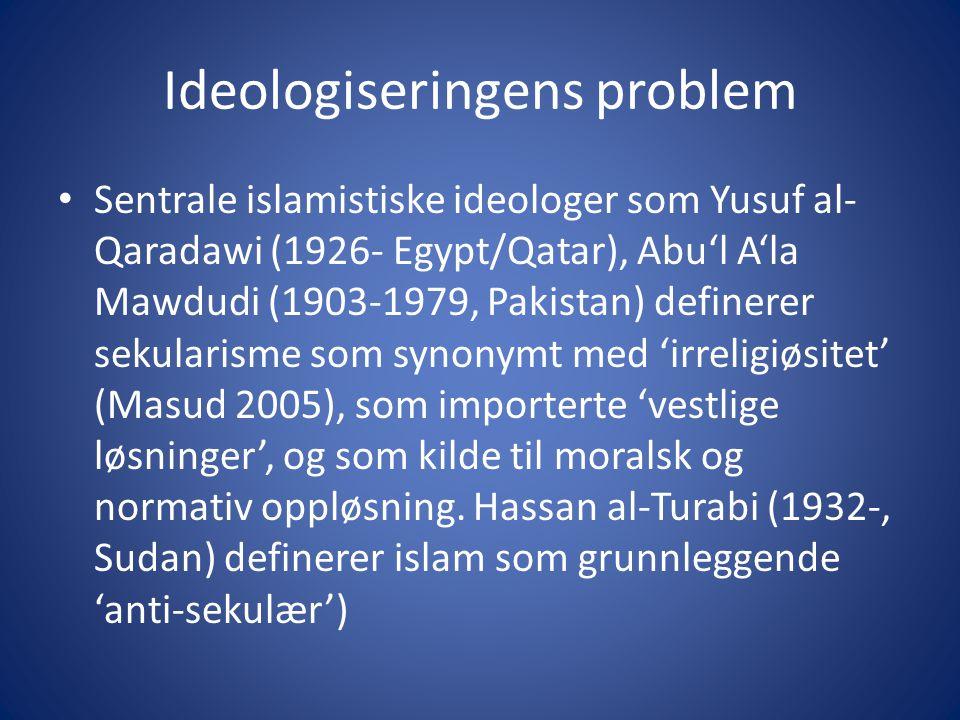 Ideologiseringens problem