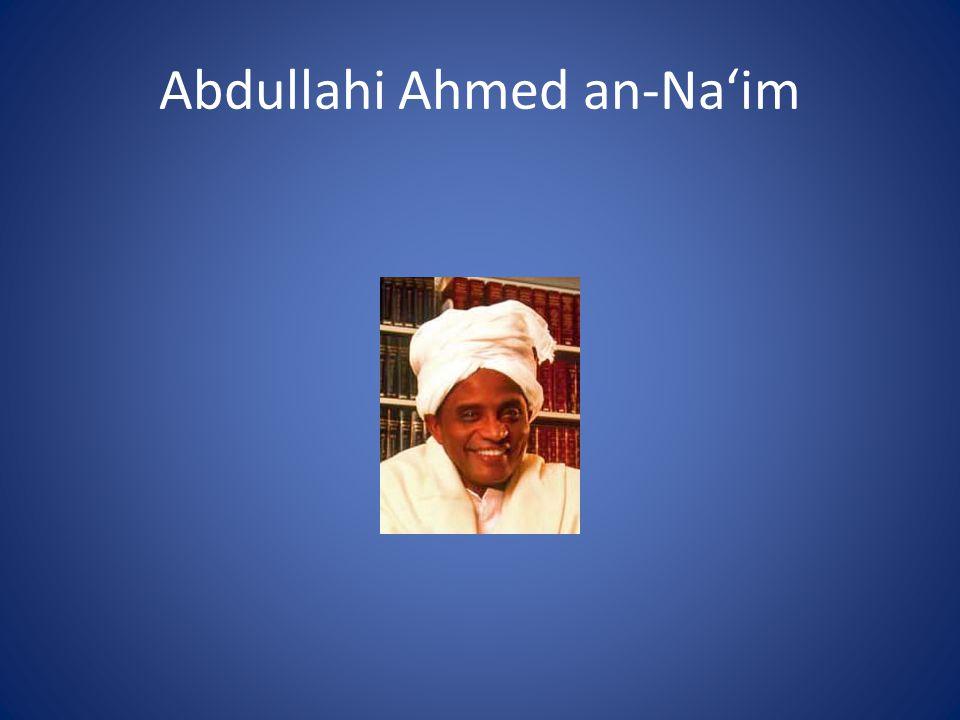 Abdullahi Ahmed an-Na'im
