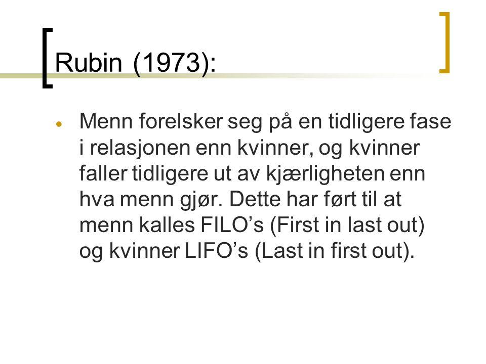Rubin (1973):