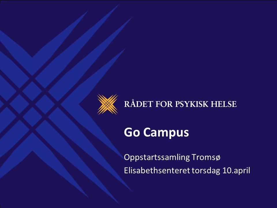 Oppstartssamling Tromsø Elisabethsenteret torsdag 10.april