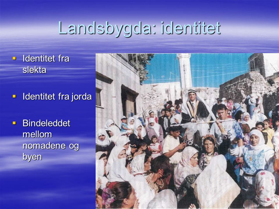 Landsbygda: identitet