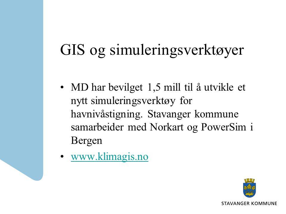 GIS og simuleringsverktøyer