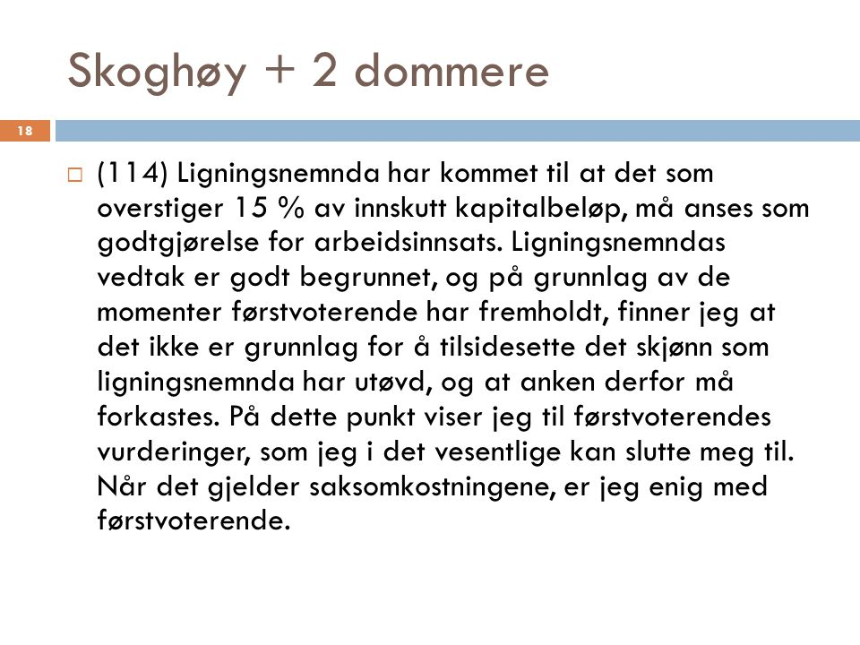 Skoghøy + 2 dommere