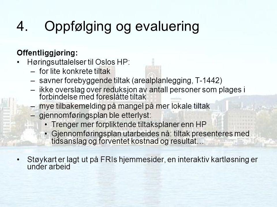 4. Oppfølging og evaluering