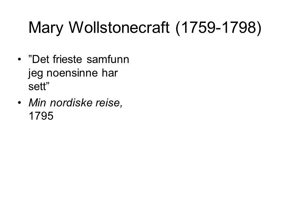 Mary Wollstonecraft (1759-1798)