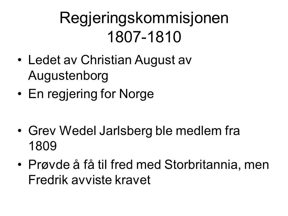 Regjeringskommisjonen 1807-1810