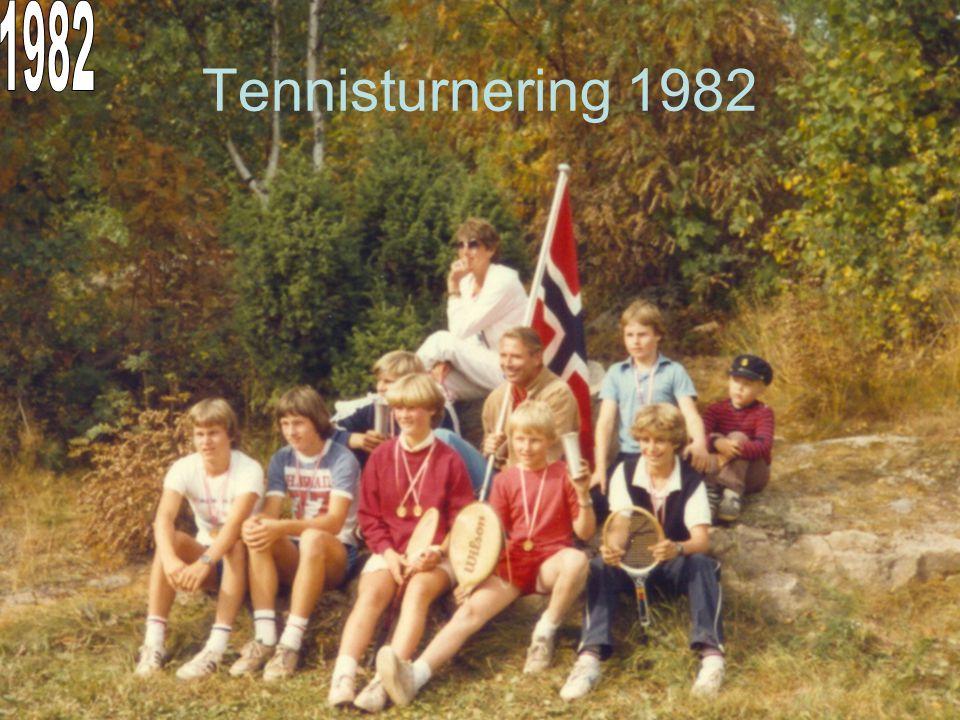 1982 Tennisturnering 1982