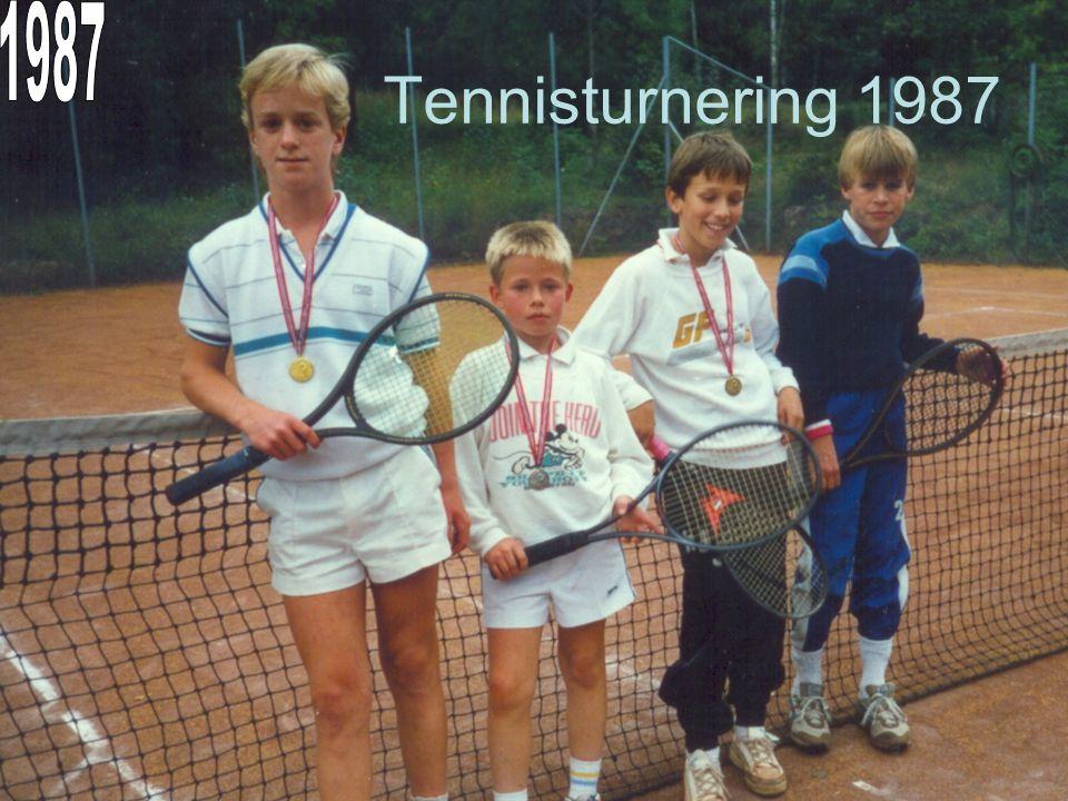 1987 Tennisturnering 1987
