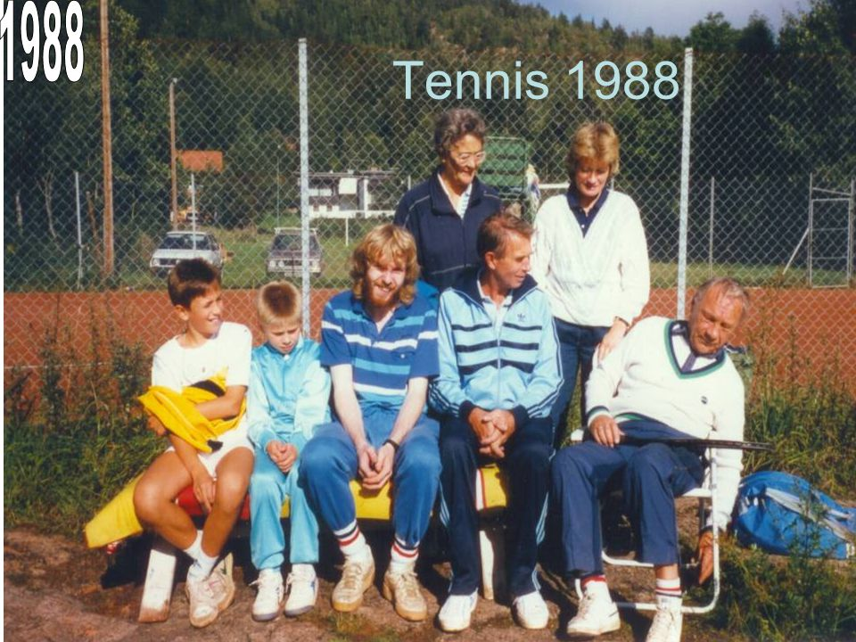 1988 Tennis 1988
