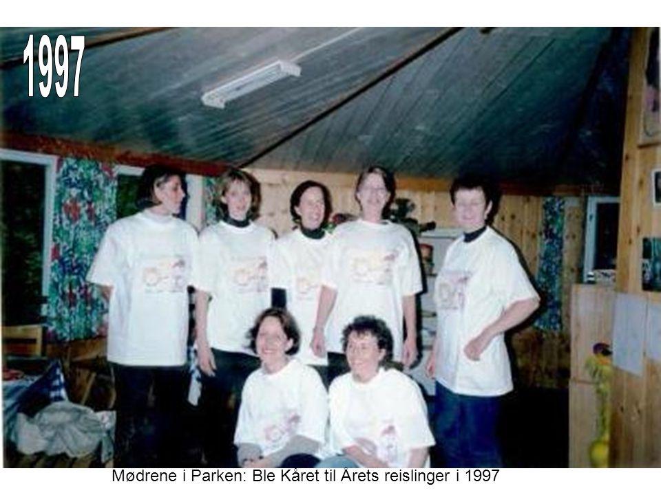 1997 Mødrene i Parken: Ble Kåret til Årets reislinger i 1997
