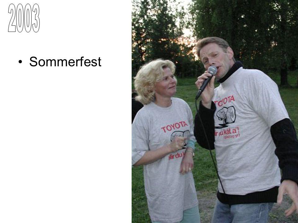 2003 Sommerfest