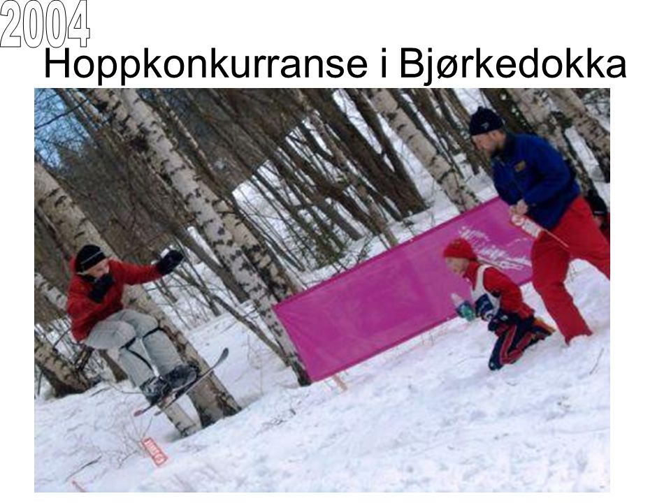 Hoppkonkurranse i Bjørkedokka