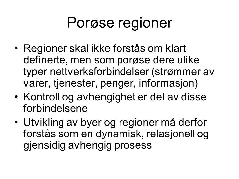 Porøse regioner