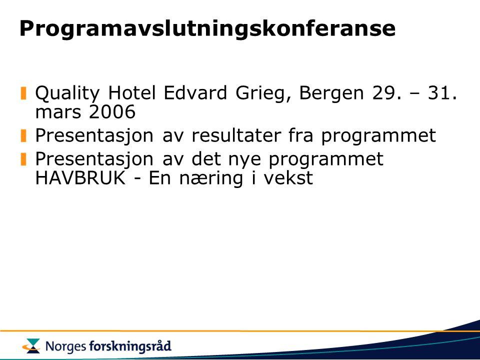 Programavslutningskonferanse