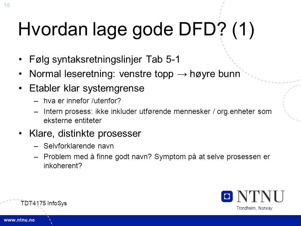 Hvordan lage gode DFD (1)