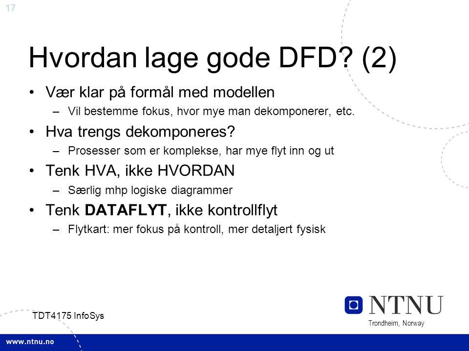 Hvordan lage gode DFD (2)