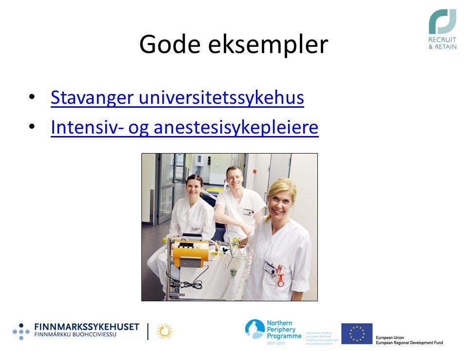 Gode eksempler Stavanger universitetssykehus