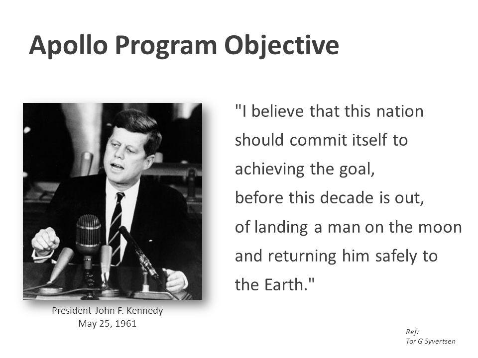 Apollo Program Objective
