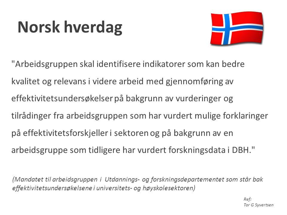 Norsk hverdag
