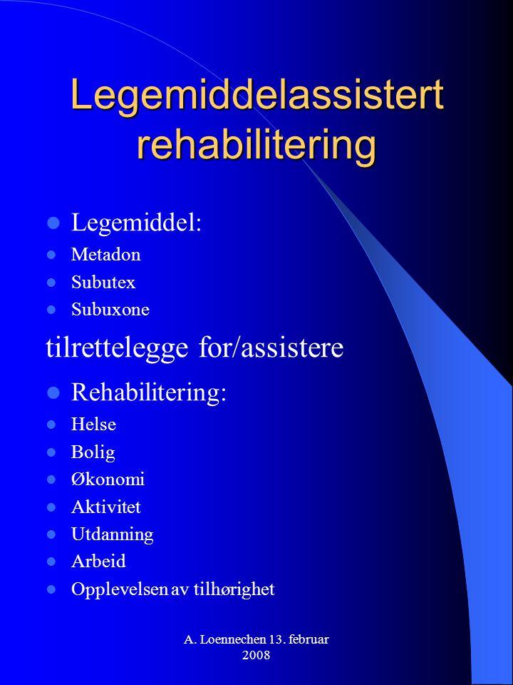 Legemiddelassistert rehabilitering