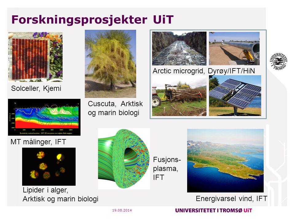 Forskningsprosjekter UiT