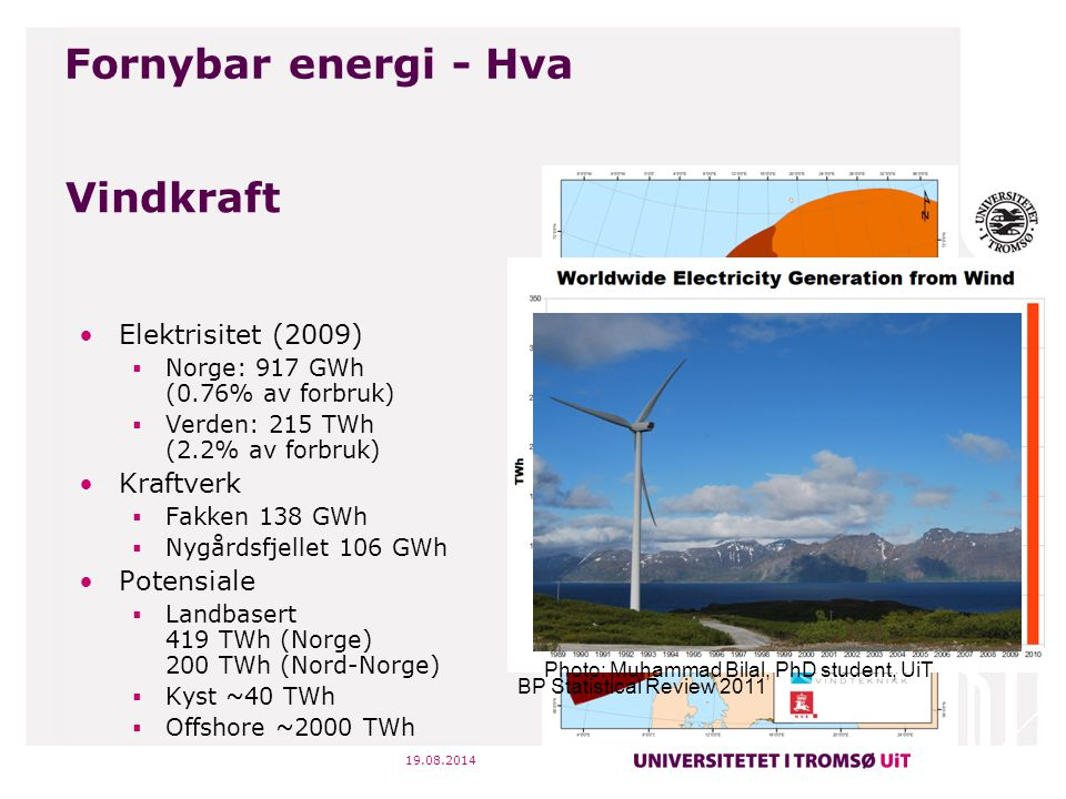 Fornybar energi - Hva Vindkraft Elektrisitet (2009) Kraftverk