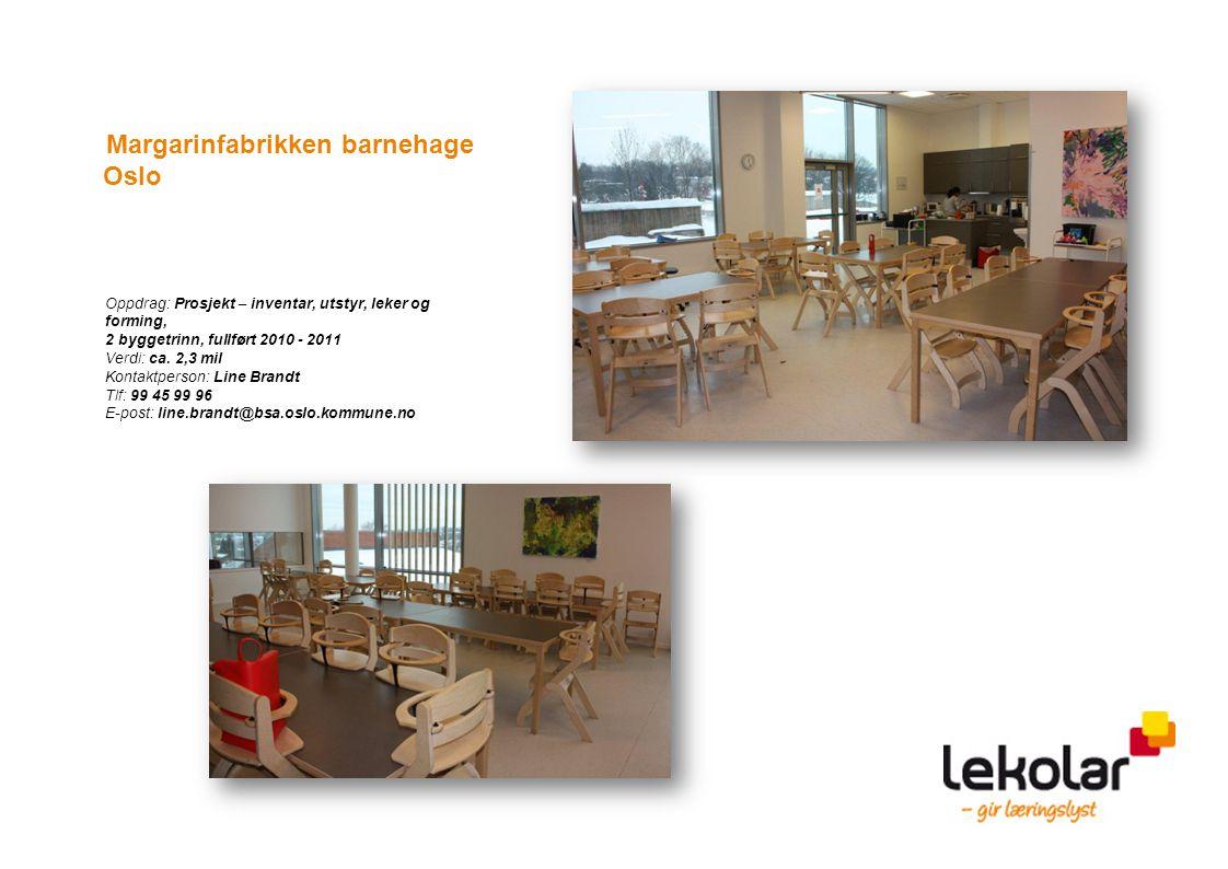 Margarinfabrikken barnehage Oslo