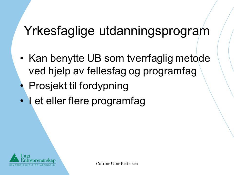 Yrkesfaglige utdanningsprogram