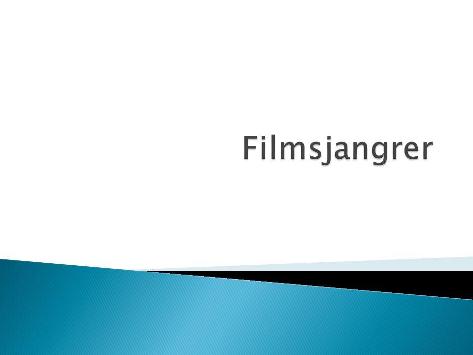 Filmsjangrer