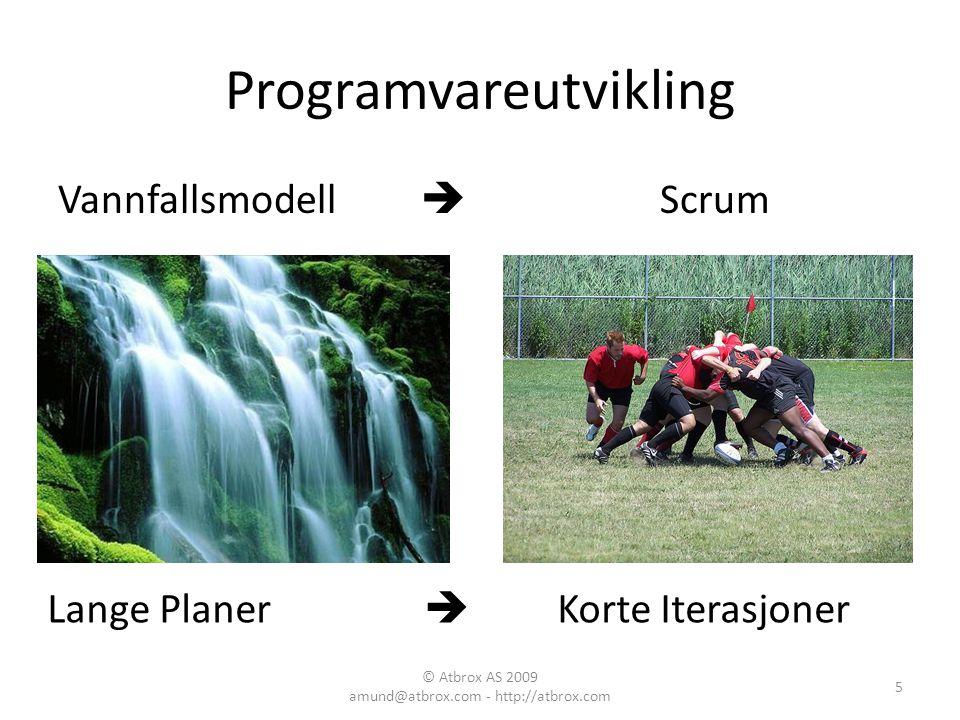 Programvareutvikling