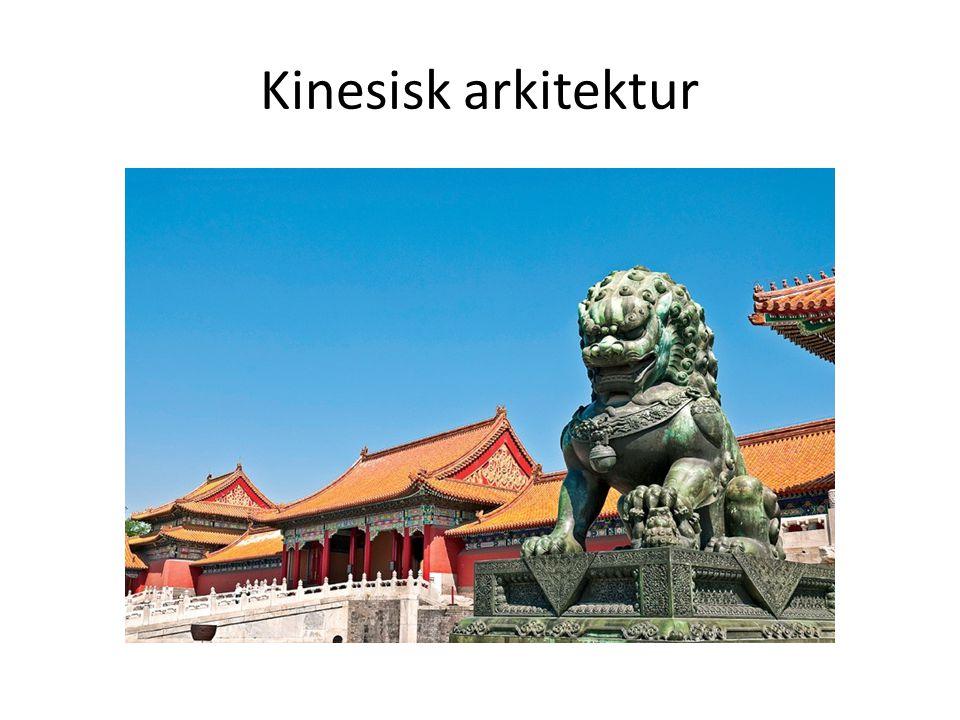 Kinesisk arkitektur
