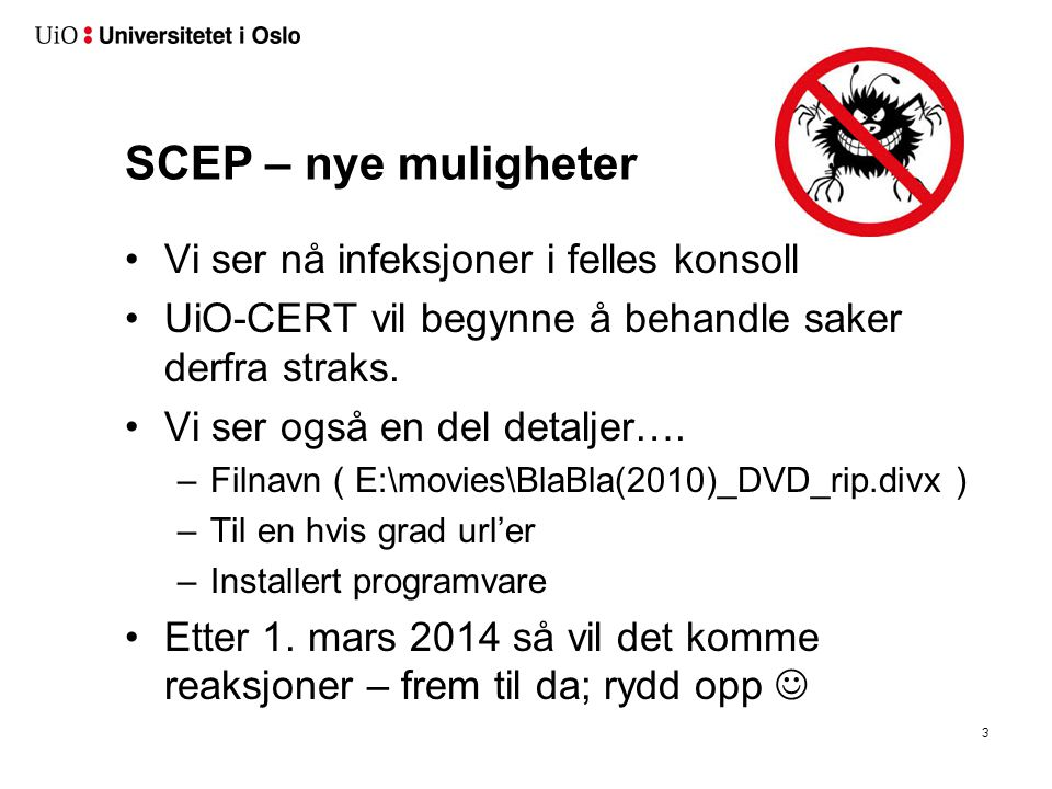 SCCM – malware deteksjon