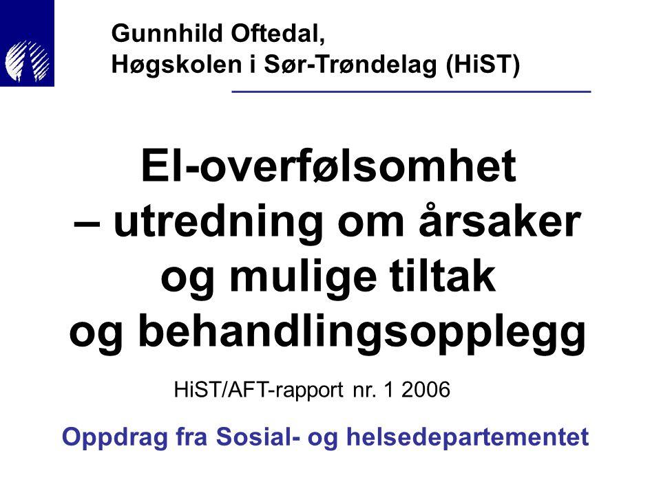 Gunnhild Oftedal, Høgskolen i Sør-Trøndelag (HiST)