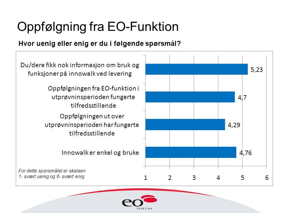 Oppfølgning fra EO-Funktion