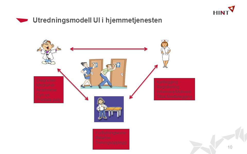 Utredningsmodell UI i hjemmetjenesten