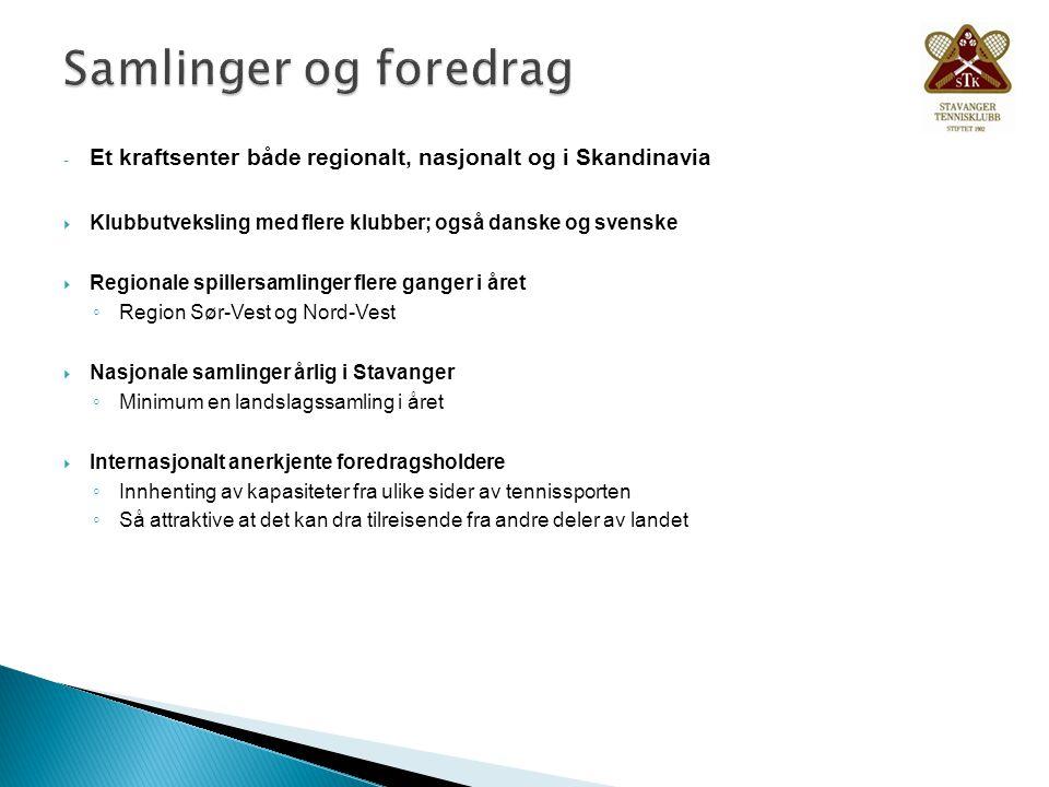 Samlinger og foredrag Et kraftsenter både regionalt, nasjonalt og i Skandinavia. Klubbutveksling med flere klubber; også danske og svenske.