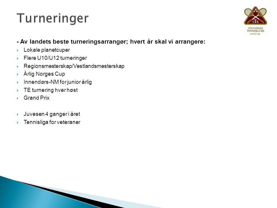 Turneringer - Av landets beste turneringsarrangør; hvert år skal vi arrangere: Lokale planetcuper.