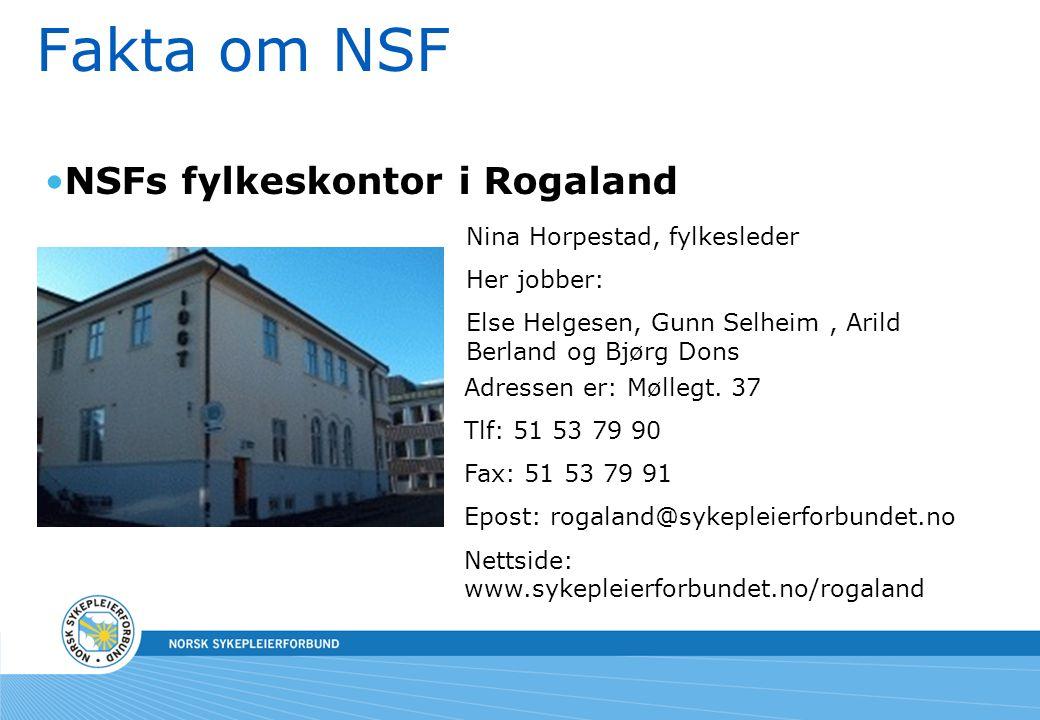 NSFs fylkeskontor i Rogaland