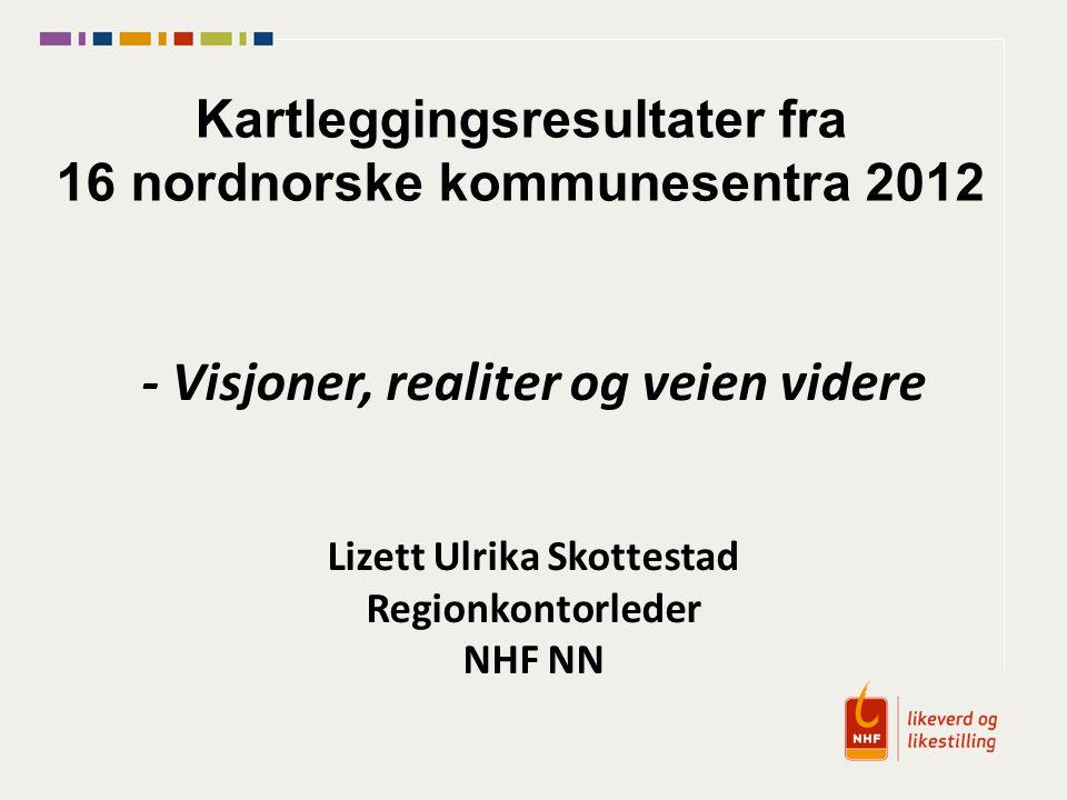 Kartleggingsresultater fra 16 nordnorske kommunesentra 2012