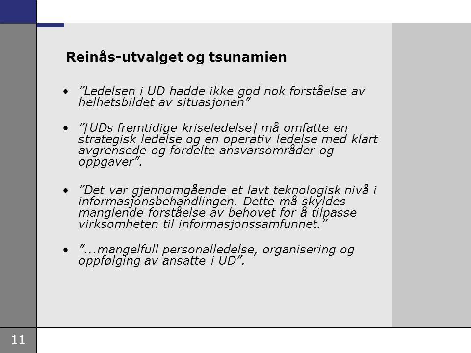 Reinås-utvalget og tsunamien