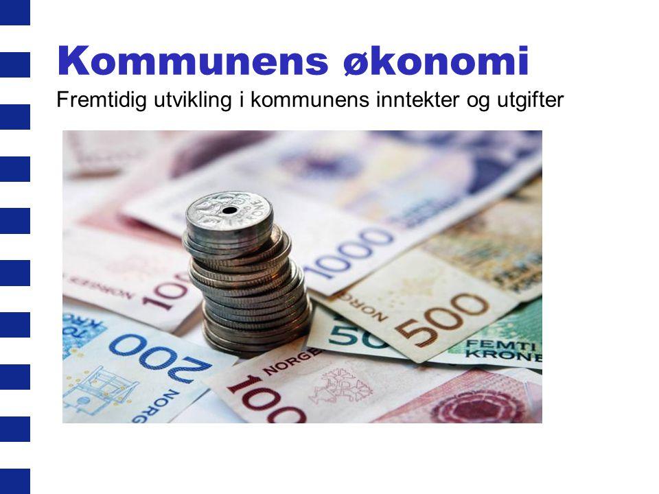 Kommunens økonomi Fremtidig utvikling i kommunens inntekter og utgifter