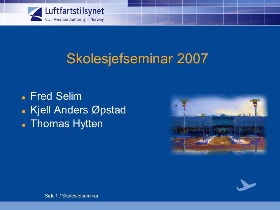 Fred Selim Kjell Anders Øpstad Thomas Hytten