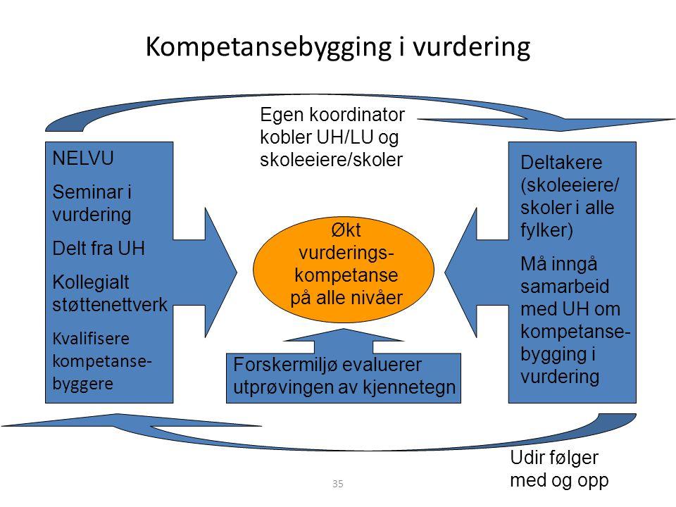 Kompetansebygging i vurdering