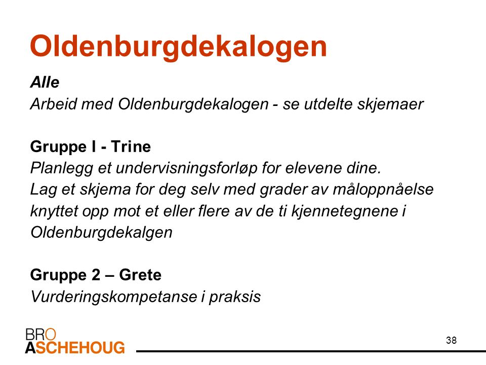 Oldenburgdekalogen Alle