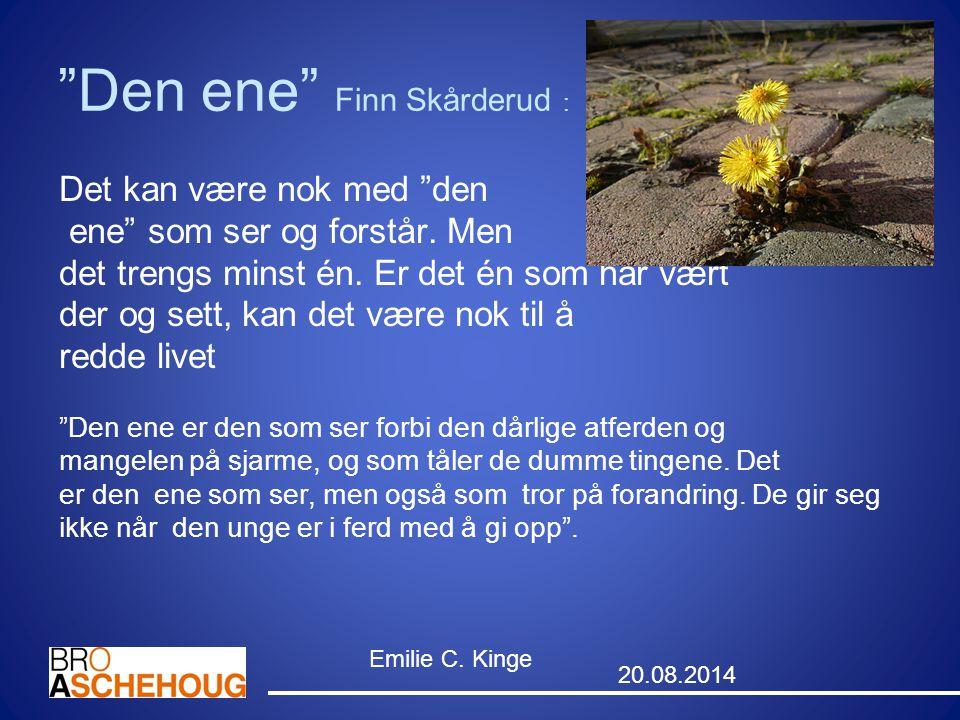 Den ene Finn Skårderud :