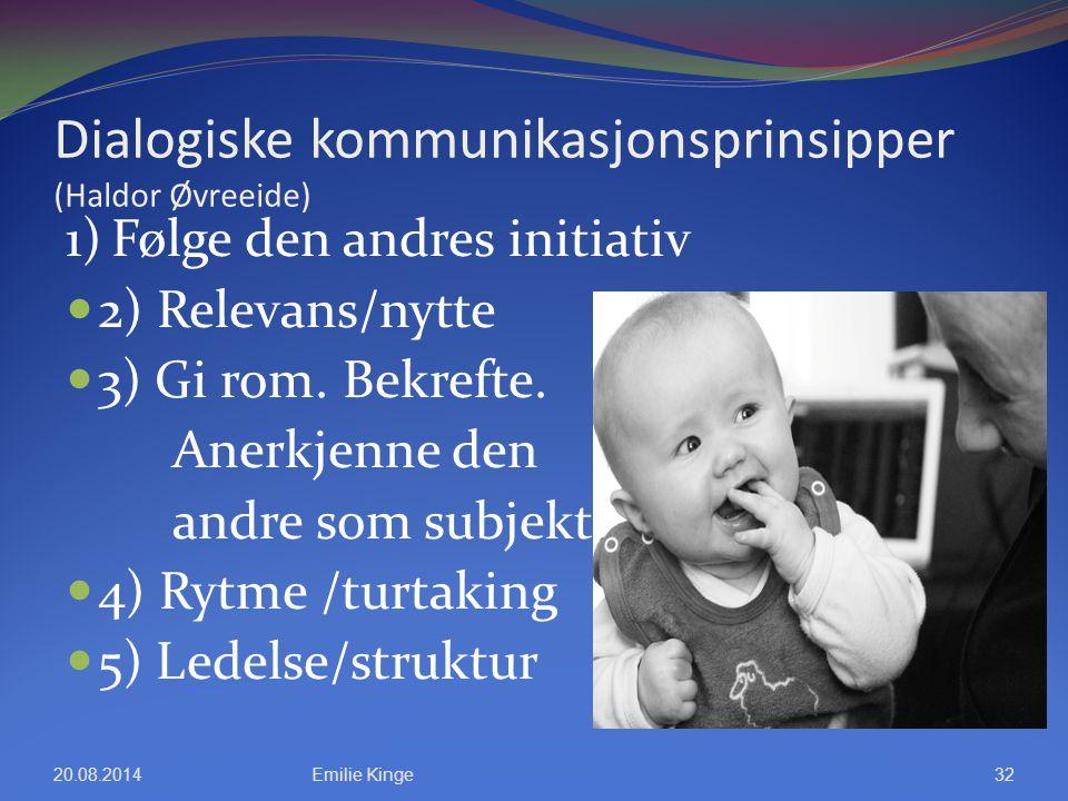 Dialogiske kommunikasjonsprinsipper (Haldor Øvreeide)