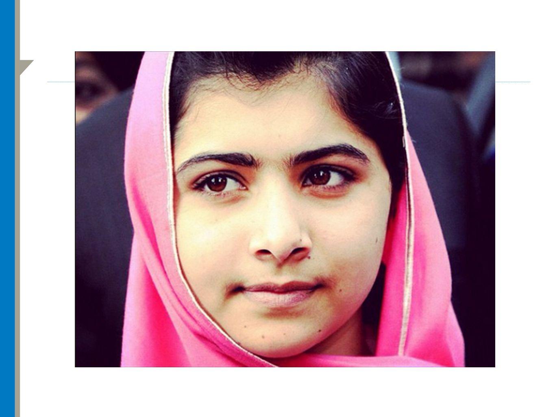 14-årige Malala Yousafzai ble skutt på vei til skolen